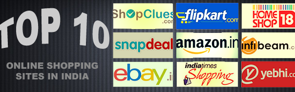 Top 10 Online Shopping Sites in India - 2014