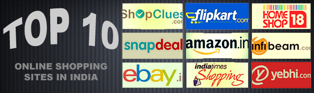 Top 10 Online Shopping Sites in India - 2014 | CouponPyk Blog