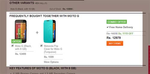 Flipkart Mobile Coupons & Flipkart Combo Offers on Mobiles