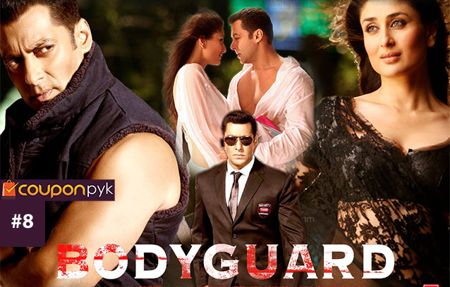 Bodyguard - No. 8 Highest Grossing Bollywood Movie of All Time