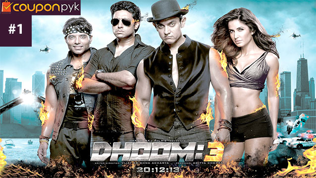 Dhoom 3 - No. 1 Highest Grossing Bollywood Movie of All Time