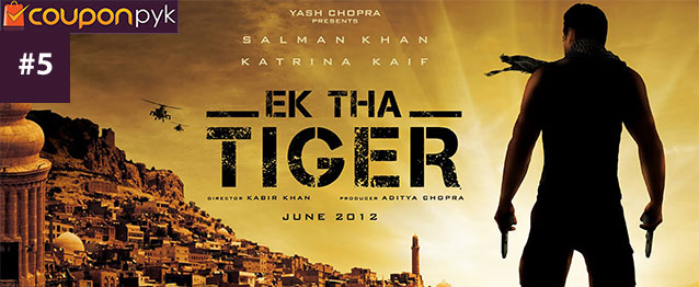 Ek Tha Tiger - No. 5 Highest Grossing Bollywood Movie of All Time