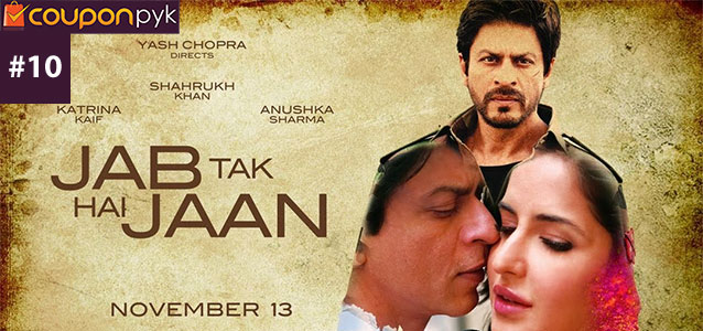 Jab Tak Hai Jaan - No. 10 Highest Grossing Bollywood Movie of All Time