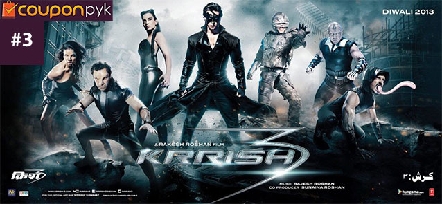 Krrish 3 - No. 3 Highest Grossing Bollywood Movie of All Time