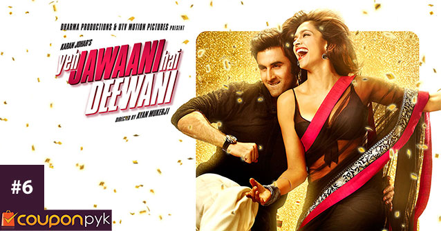 Yeh Jawaani Hai Deewani - No. 6 Highest Grossing Bollywood Movie of All Time